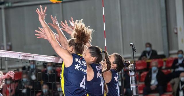 CEV Şampiyonlar Ligi: Nantes: 0 - Fenerbahçe Opet: 3