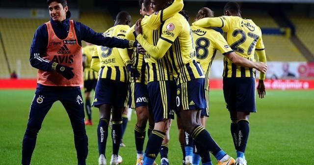 Kasımpaşa'yı 1-0 yenen Fenerbahçe, Türkiye Kupası'nda çeyrek finale yükseldi