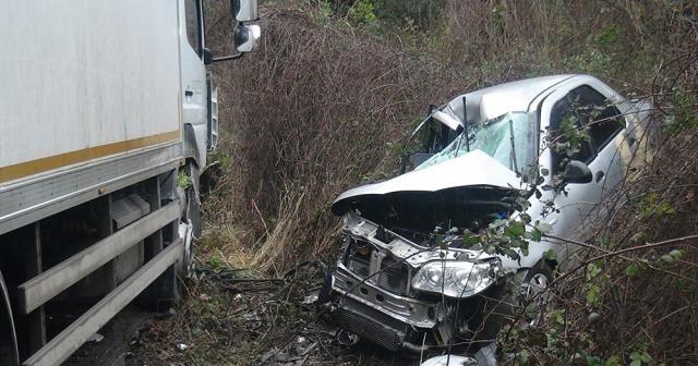Sarıyer'de feci kaza: 1 ölü