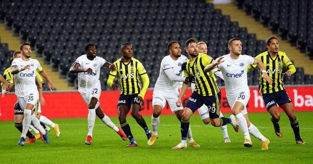 Ziraat Türkiye Kupası: Fenerbahçe: 0 - Kasımpaşa: 0 (İlk yarı)