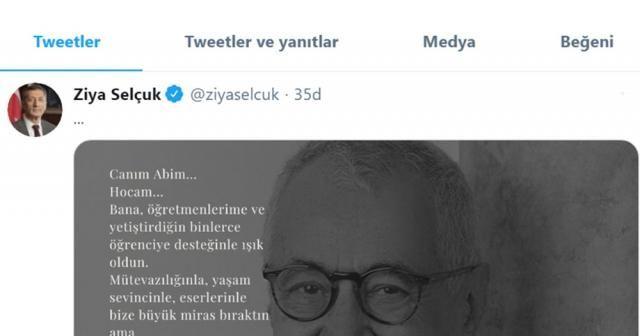 """Milli Eğitim Bakanı Selçuk: """"Türkiye'nin başı sağ olsun"""""""