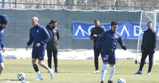 BB Erzurumsor'da Göztepe maçı hazırlıkları başladı