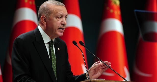 """Cumhurbaşkanı Erdoğan: """"Bugün itibarıyla yeni kontrollü normalleşmeye başlıyoruz"""""""