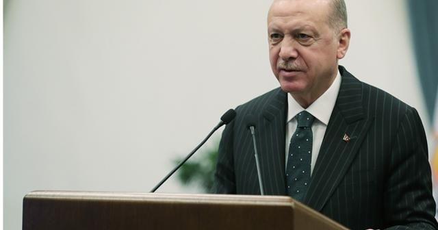 """Cumhurbaşkanı Erdoğan: """"Cumhuriyetimizin 100. yılını sivil bir anayasa ile karşılayalım"""""""