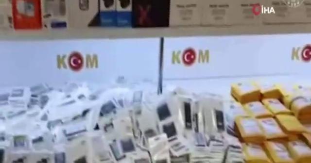 Ankara'da kaçakçılık suçundan bir haftada 27 kişi gözaltına alındı
