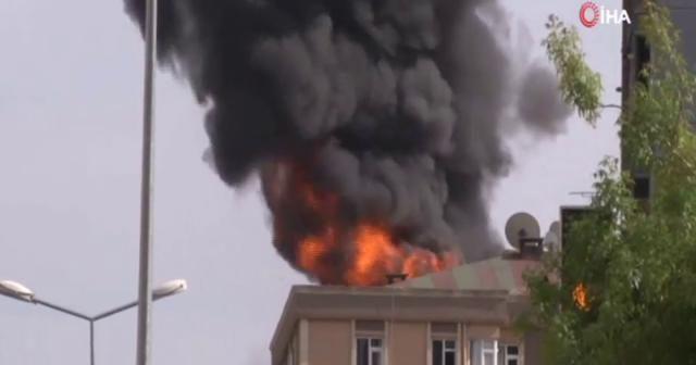 Bağcılar'da yangında can pazarı