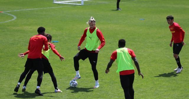 Göztepe, Galatasaray maçı hazırlıklarını sürdürüyor