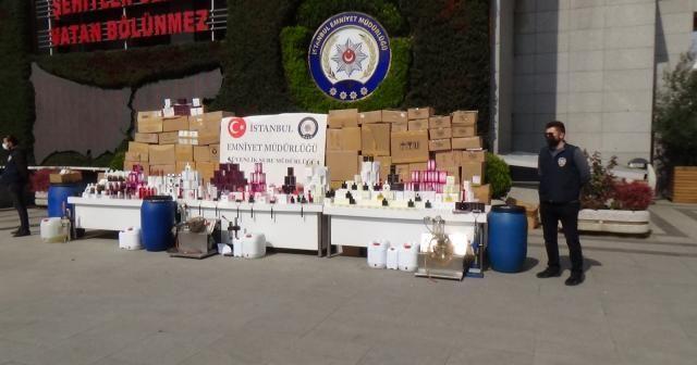 İstanbul'da sahte parfüm operasyonu: 21 bin şişe taklit ürün ele geçirildi