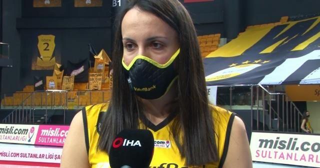 """Milena Rasic: """"Motivasyonumuzu korumayı başardık ve mutlu sona ulaştık"""""""
