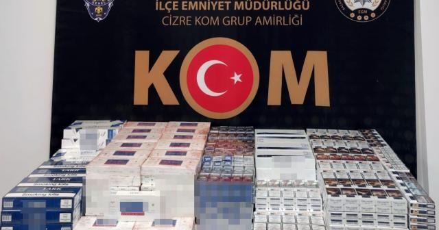 Şırnak'ta asayiş ve kaçakçılık operasyonu: 44 gözaltı