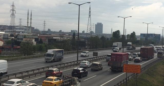 İstanbul'da tam kapanmada trafik yoğunluğu