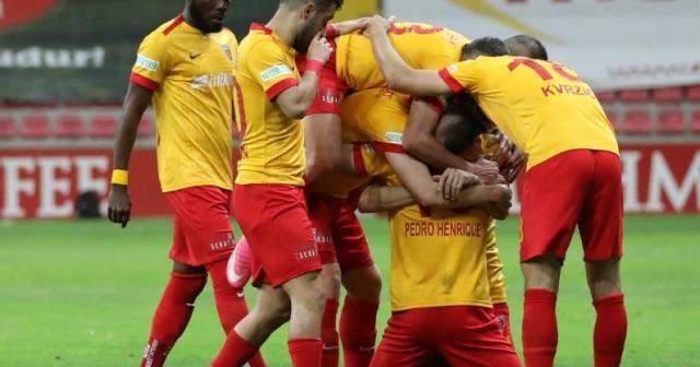 Kayserispor ligi 41 puanla tamamladı