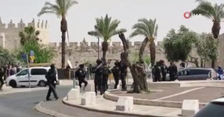 Filistinliler, Kudüs'te İsrail saldırılarını protesto etti