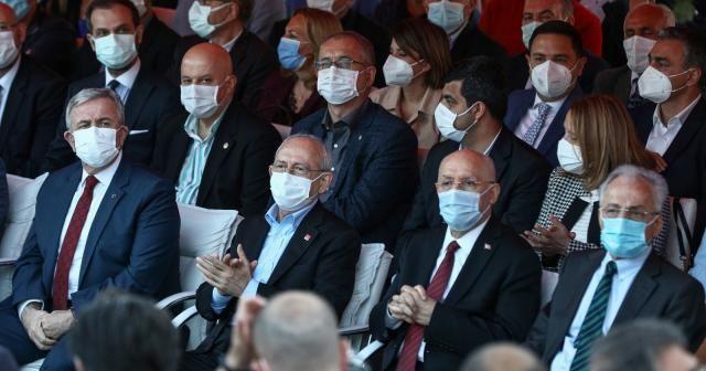 CHP Lideri Kılıçdaroğlu, Murat Karayalçın Meydanı'nın açılışına katıldı