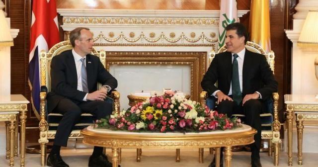 """İngiltere Dışişleri Bakanı Raab: """"Biz Kürt halkının dostuyuz ve tarihi ilişkilere sahibiz"""""""