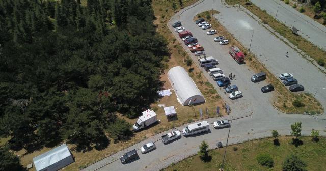 AFAD'tan 1517 metrede arama kurtarma ekiplerine eğitim