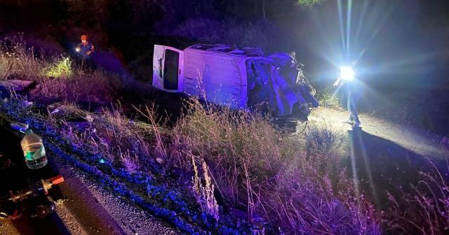Afyonkarahisar'da zincirleme trafik kazası: 3 ölü, 2 yaralı