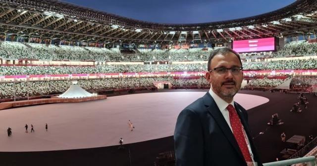Bakan Kasapoğlu, Tokyo Olimpiyatları'nın açılışına katıldı