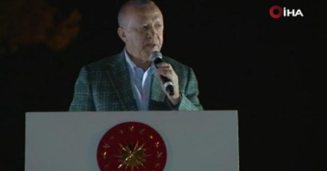 """Cumhurbaşkanı Erdoğan: """"1 ay içerisinde evlerin inşasına başlanacak"""""""