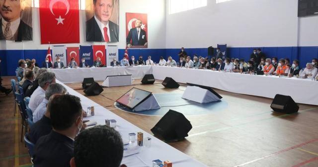 """Cumhurbaşkanı Erdoğan: """"1 yıl içinde evler tamamlanacak"""""""