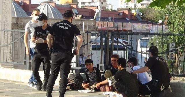 Diyarbakır'da düzensiz göçmenlere operasyon