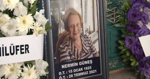 Eski Dışişleri Bakanı Turan Güneş'in eşi Nermin Güneş son yolculuğuna uğurlandı