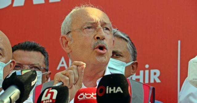 """Kılıçdaroğlu: """"Yangın söndürme helikopterleri yangını büyütüyor"""""""