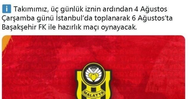 Yeni Malatyaspor, 3. etap kamp çalışmalarını tamamladı