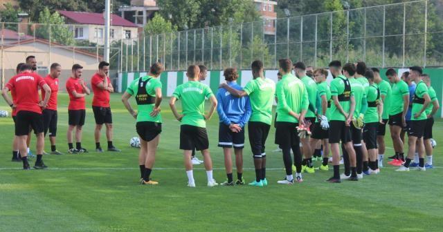 Giresunspor, Galatasaray maçı hazırlıklarına başladı