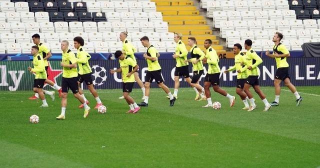 Borussia Dortmund, Beşiktaş maçının hazırlıklarını tamamladı