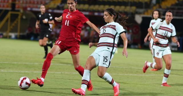 Kadın A Milli Takımı, Portekiz ile 1-1 berabere kaldı