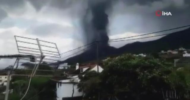La Palma Adası'na kül yağıyor