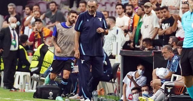 """Maurizio Sarri: """"İyi oynadık ama şanssız bir gol yedik"""""""