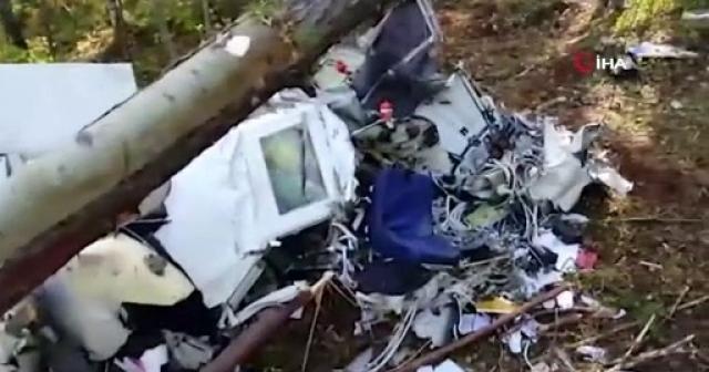 Rusya'daki 4 kişinin öldüğü uçağın karakutusu bulundu