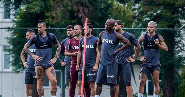 Trabzonspor, Kasımpaşa maçı hazırlıklarını tamamlayarak İstanbul gitti