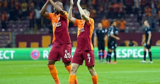 UEFA Avrupa Ligi: Galatasaray: 0 - Lazio: 0 (İlk yarı)