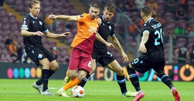 UEFA Avrupa Ligi: Galatasaray: 1 - Lazio: 0 (Maç sonucu)