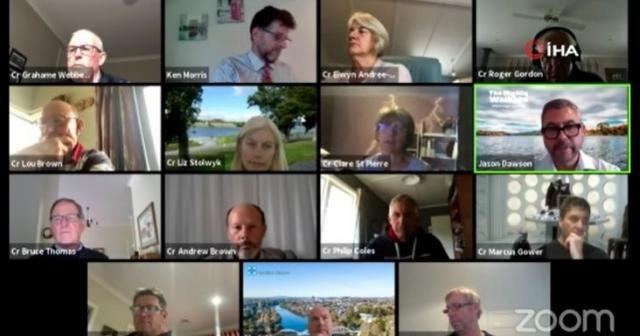 Yeni Zelanda bölge konseyinin Zoom toplantısı, rahatsız edilmek istemeyenlerin adresi oldu