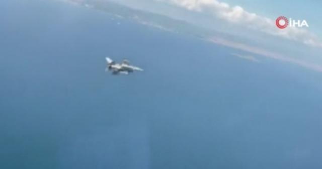 """MSB: """"Su Üstü Unsurlarına Karşı Hava Harekatı eğitimi başarıyla gerçekleşti"""""""
