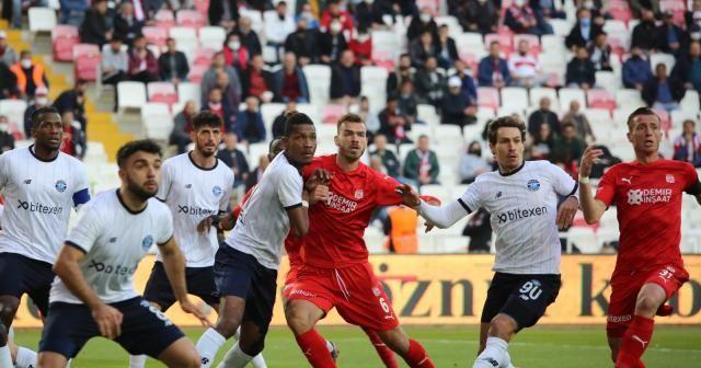 Süper Lig: D.G. Sivasspor: 1 - Adana Demirspor: 1 (Maç sonucu)
