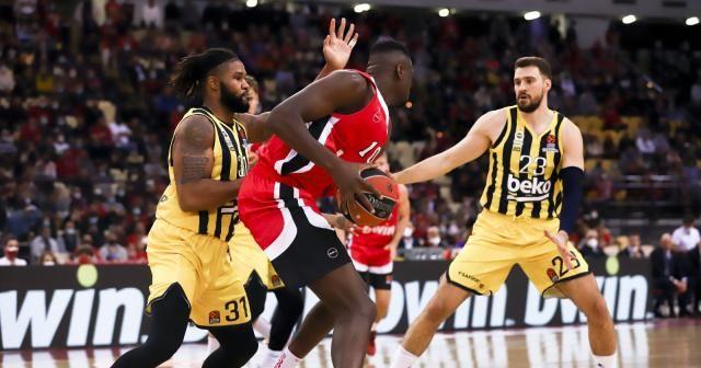 THY Euroleague: Olympiakos: 67 - Fenerbahçe Beko: 65