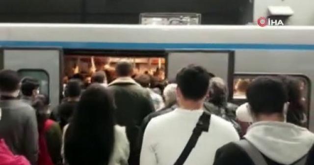 Vatandaşların metro çilesi