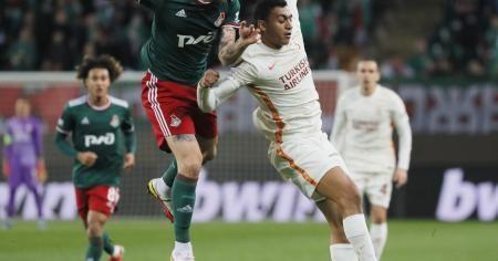 UEFA Avrupa Ligi: Lokomotiv Moskova: 0 - Galatasaray: 0 (İlk yarı)
