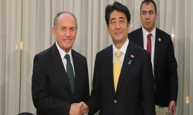 Shinzo Abe'den Kadir Topbaş'a sürpriz ziyaret