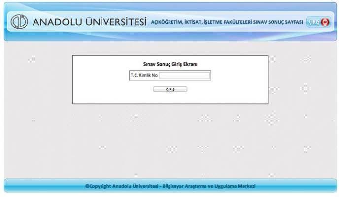Açıköğretim Sınav Sonuçları Açıklandı! TIKLA ÖĞREN! (AÖF-Final-Sınav-Soruları-2014)