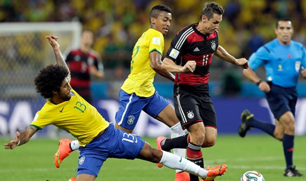 Brezilya-Almanya yarı final maçı tüm golleri izle, geniş özet ve goller