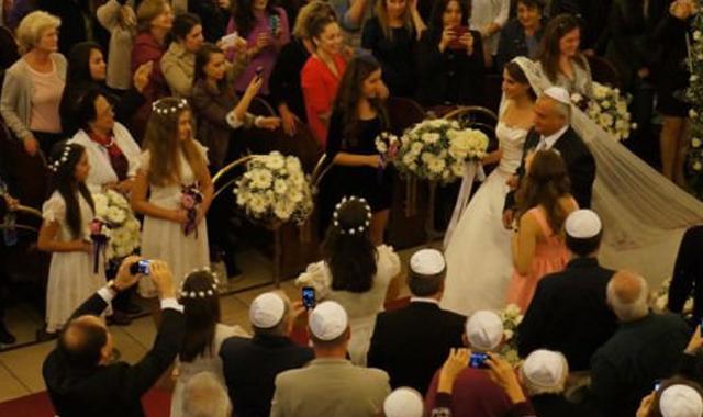 Yahudi düğününde şehitlere rahmet, Erdoğan'a dua