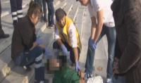 Gezi Parkı merdivenlerinde bonzai krizi