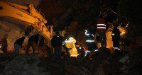 Rize tünel inşaatında göçük