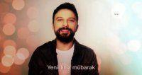 Tarkan'dan 11 dilde yeni yıl mesajı